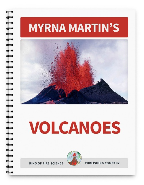 Volcanoes Book by Myrna Martin