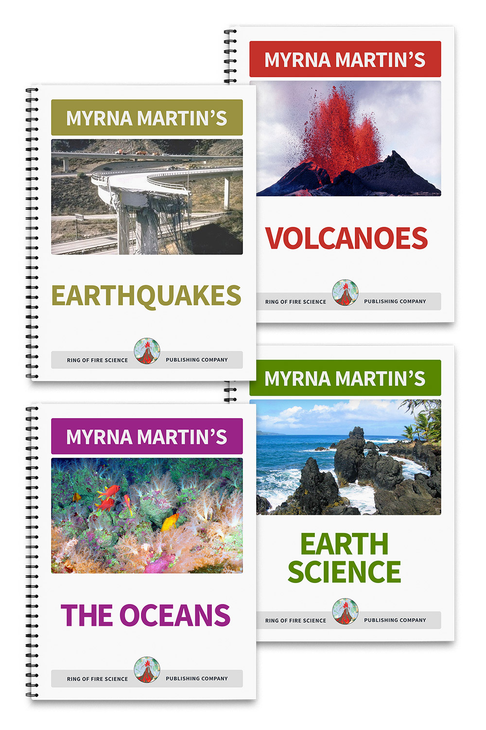 Earth Science Books at the Ring of Science Bookstore