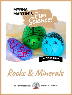 Rocks and Minerals Activity Book by Myrna Martin