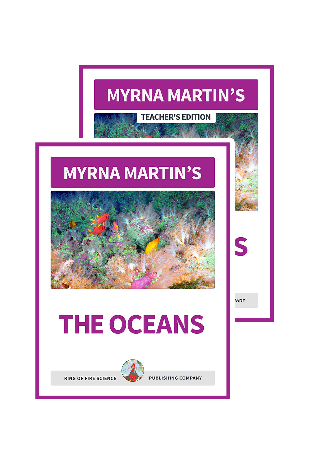 The Oceans school eBook with Teacher's Edition by Myrna Martin