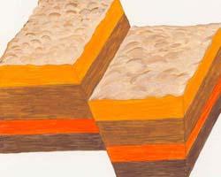 Normal fault blocks, Photo by Myrna Martin