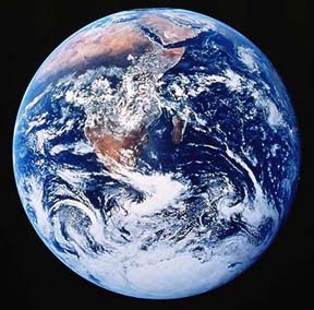 Lithosphere of Planet Earth from space, NASA
