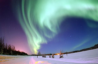 Alaska Northern Lights, USGS