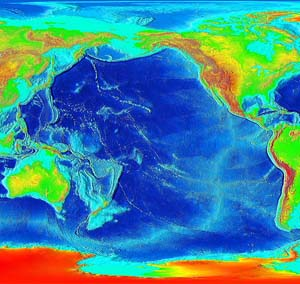 Pacific Plate, NOAA