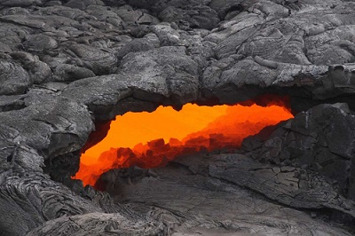 Skylight on Kilauea USGS