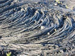 Pahoehoe lava, Photo by Myrna Martin