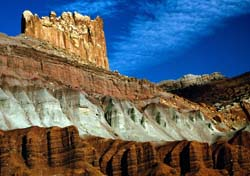 Sandstones at Capitol Reef National Park, Utah, NPS