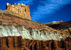 Sandstones at Capitol Reef National Park, Utah, NPS