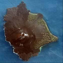 Krakatoa Anak, NOAA