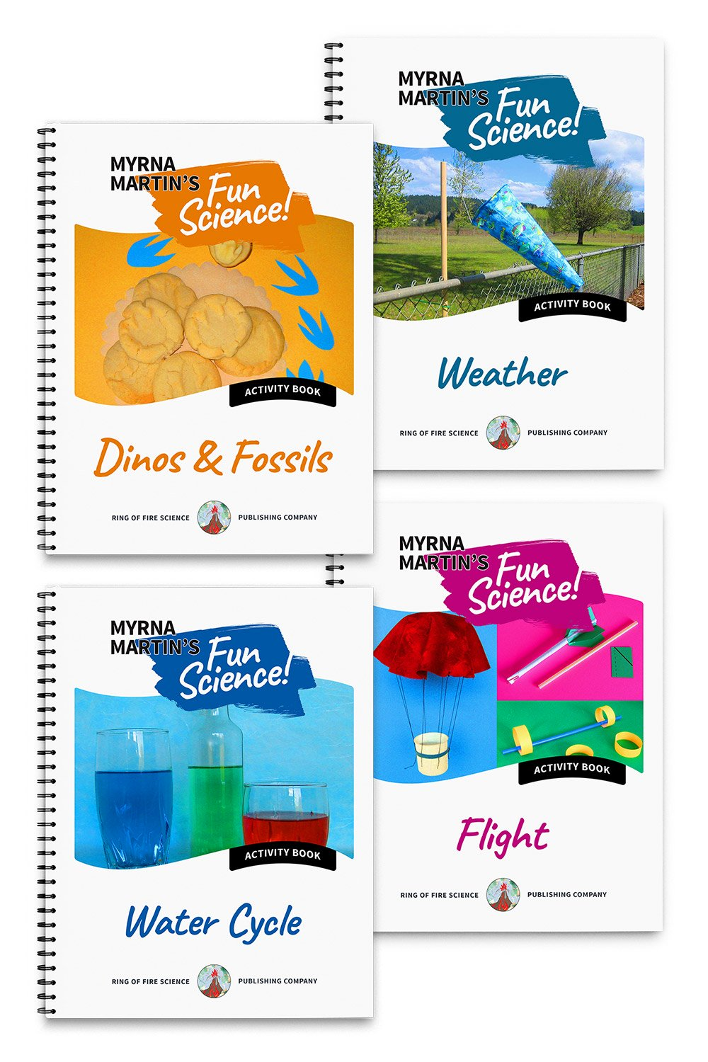 Fun Science Activities Book Package 2 by Myrna Martin