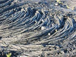 Pahoehoe lava, Photo by Myrna Martin