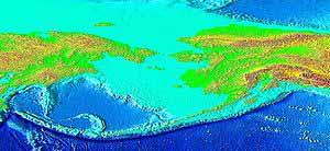 Aleutian trench, NOAA