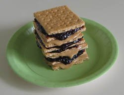 Science activities, Sedimentary Sandwich, Photo by Myrna Martin