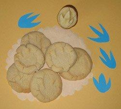 Dinosaur cookies, Photo by Myrna Martin
