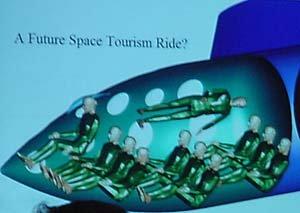Future space tourists