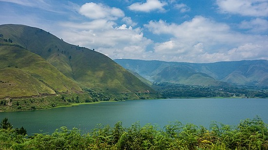 Lake Toba is in the caldera of a supervolcano in Sumatra
