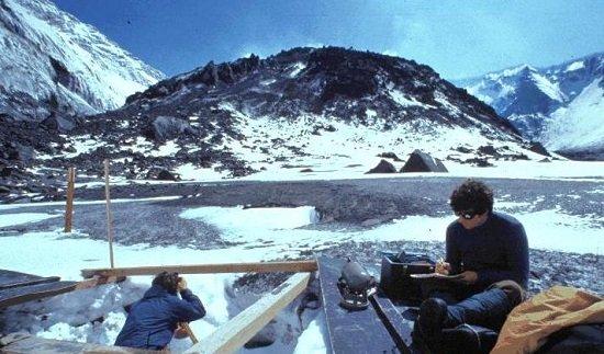 Lava dome in caldera of Mount Saint Helens